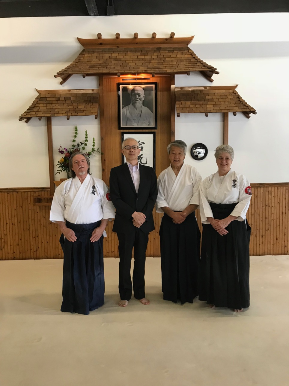 We were honored by a visit from the Consulate General of Japan